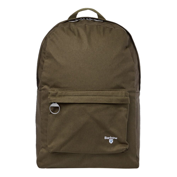 Barbour Cotton Canvas Cascade Backpack In Green