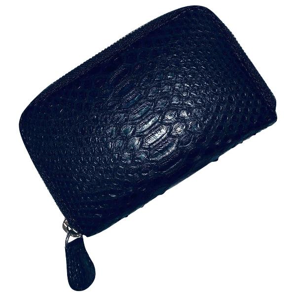 Ximena Kavalekas Black Python Wallet