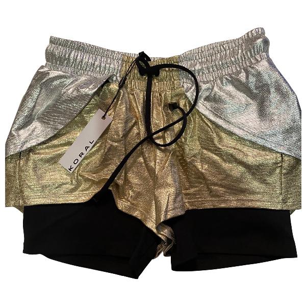 Koral Silver Shorts