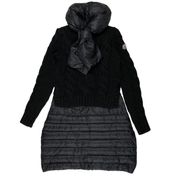 Moncler Black Wool Dress