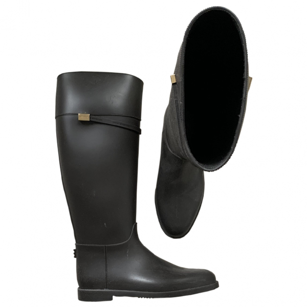 Luis Onofre Brown Rubber Boots