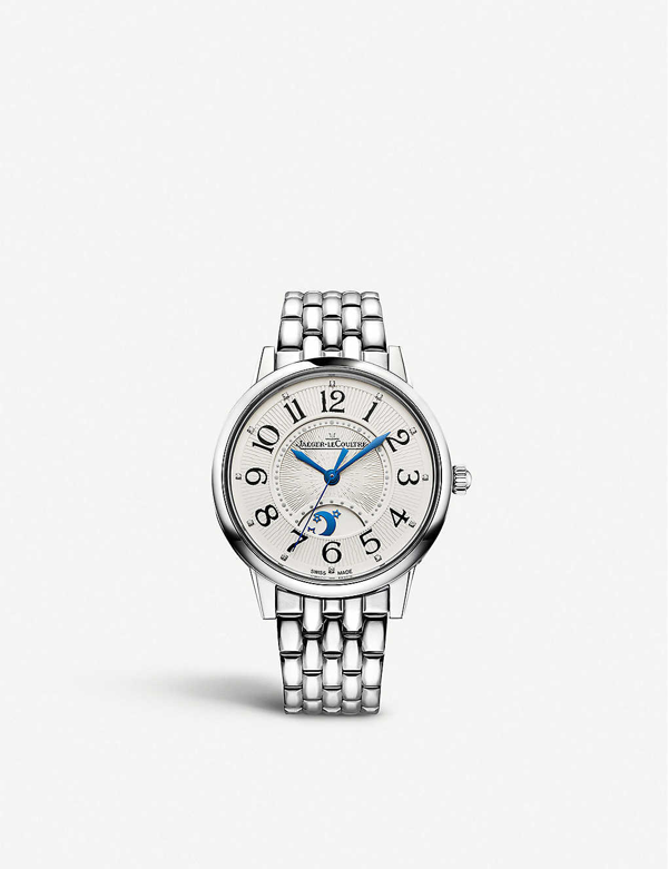 Jaeger-lecoultre 3448110 Rendez-vous Night & Day Automatic Diamond And Stainless Steel Watch In Silver