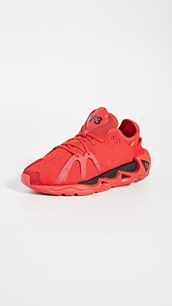 Y-3 Fyw S-97 Sneakers In Red In Red/black/red