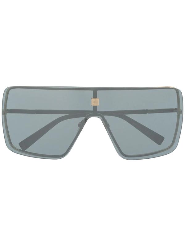 Givenchy Oversized Rectangular Frame Sunglasses In Black