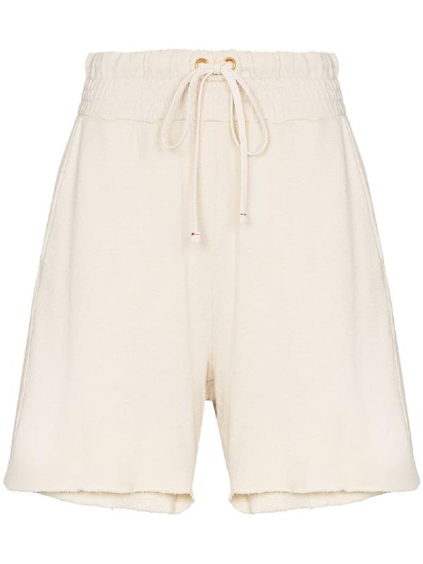 Les Tien Yacht Cotton Shorts In White
