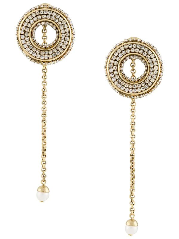 Ellery Melpomene Drop Earrings In Gold