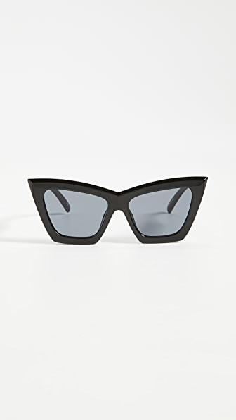 Le Specs Hathor Alt Fit Sunglasses In Black