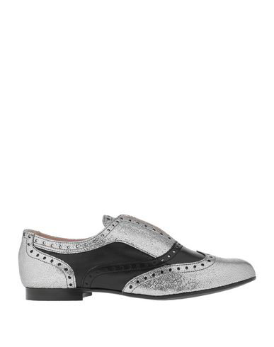 Pollini Laced Shoes In Black