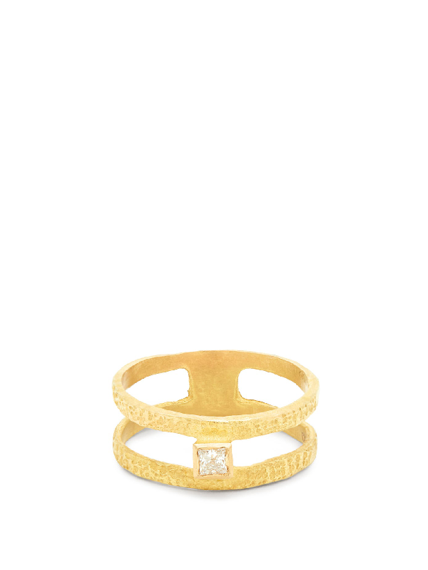 Orit Elhanati Roxy Graphic Diamond & 18kt Gold Ring