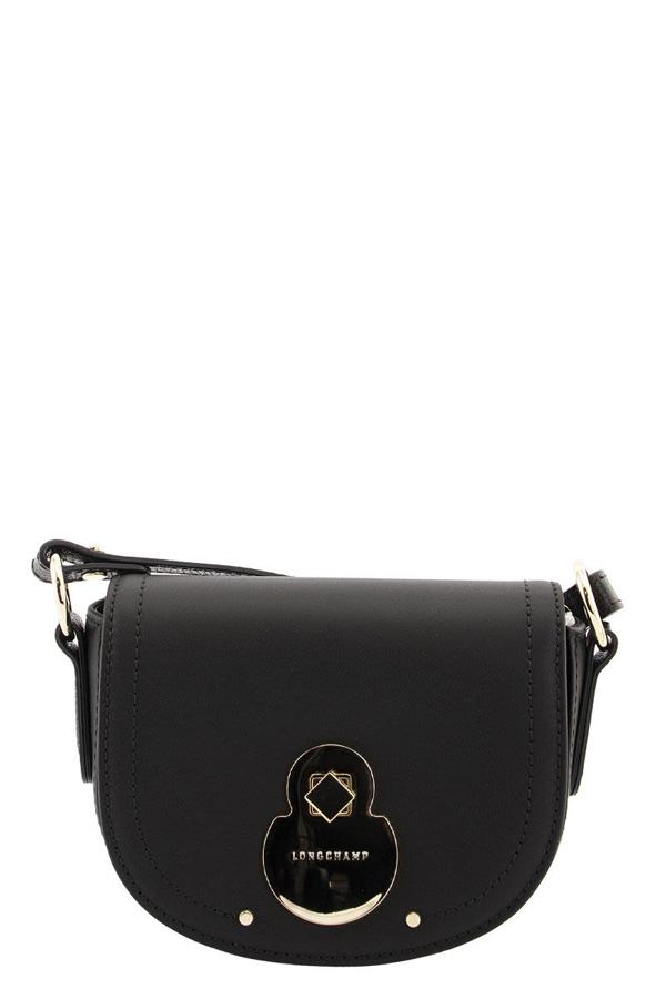 Longchamp Cavalcade Crossbody Bag Xs In Black