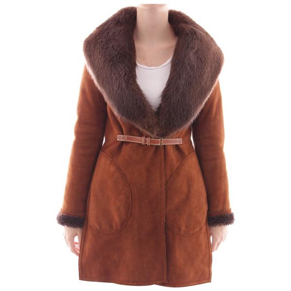 Wunderkind Brown Fur Jacket
