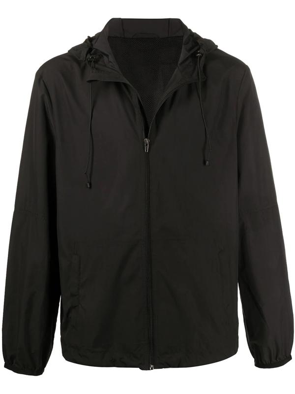 Filippa K Sintra Hooded Jacket In Black