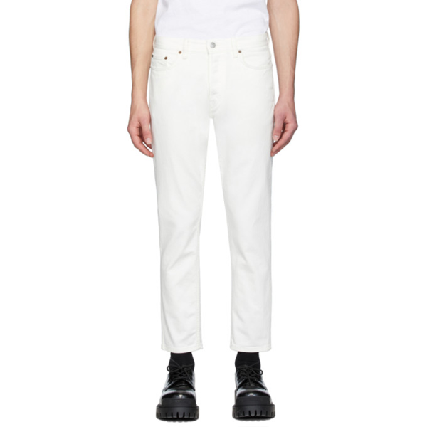 Acne Studios North Classic Slim-fit Jeans In White