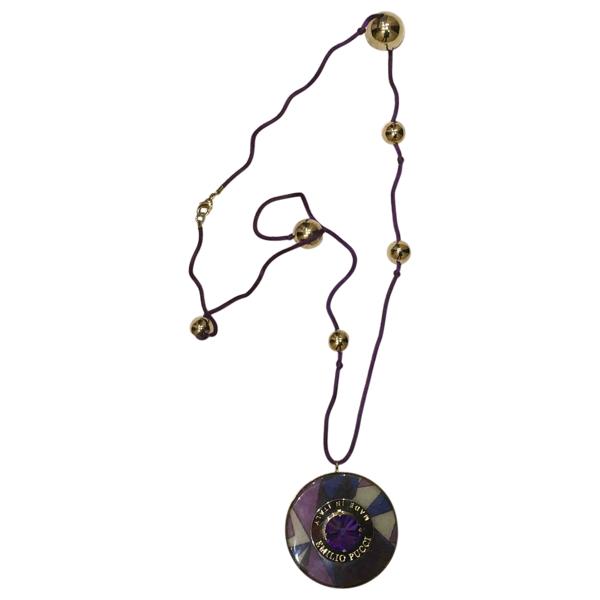 Pre-owned Emilio Pucci Multicolour Necklace