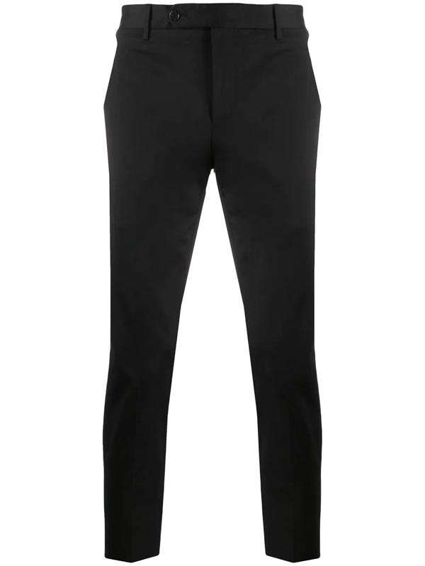 Pt01 Slim Fit Chinos In Black
