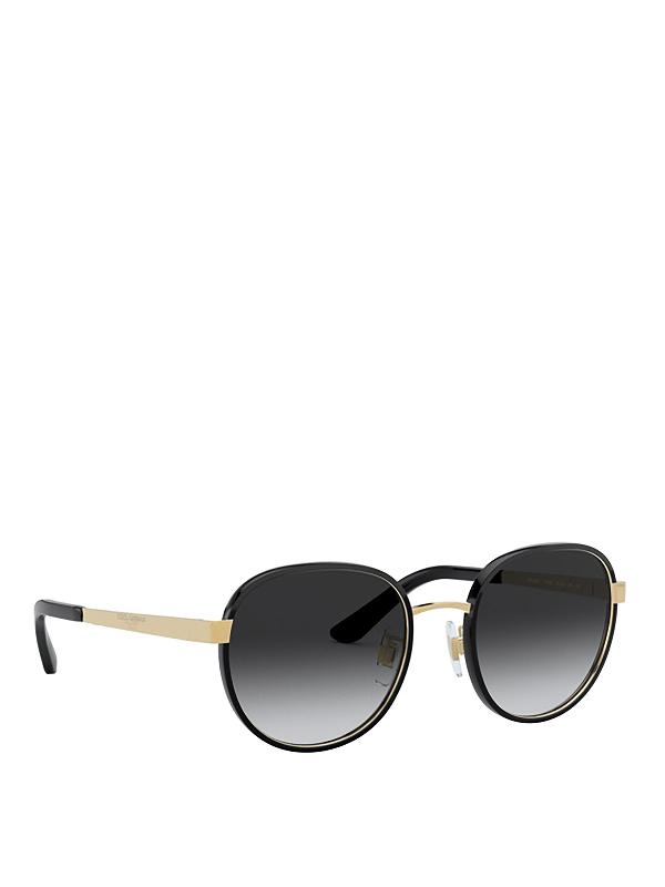 Dolce & Gabbana Print Family Black Sunglasses