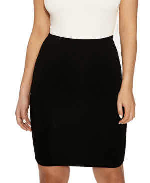Naked Wardrobe The Nw Hourglass Mini Skirt In Black