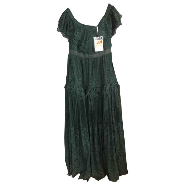 Self-portrait Green Lace Dress