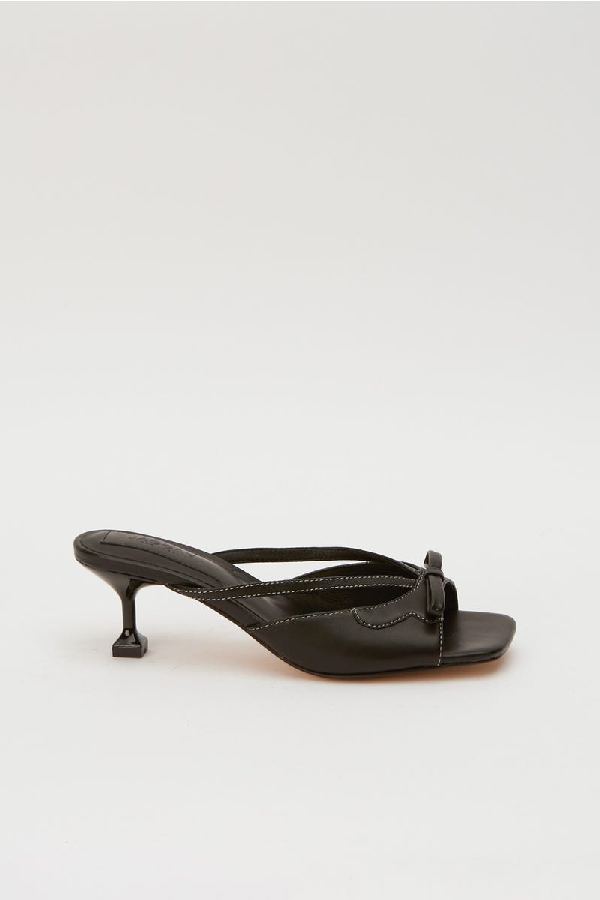 Jaggar Vintage Heel In Black