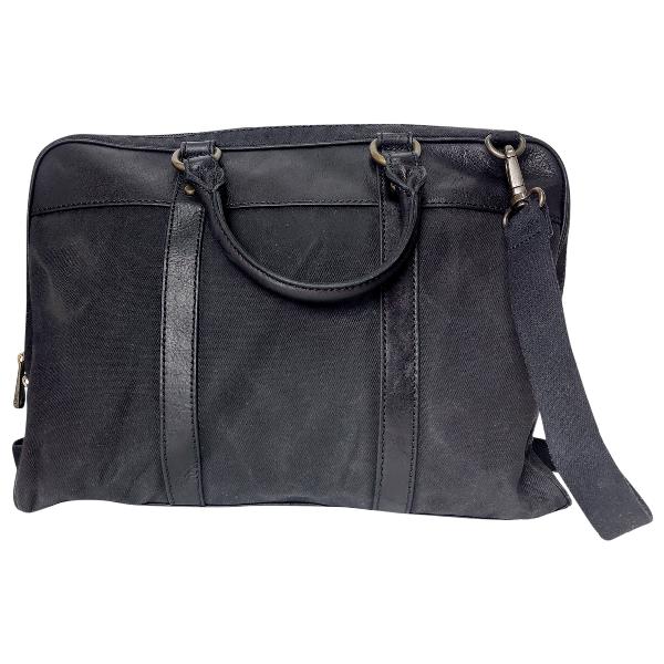 Fossil Black Cloth Bag