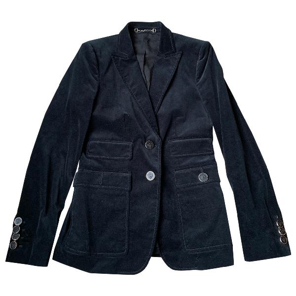 Gucci Black Velvet Jacket