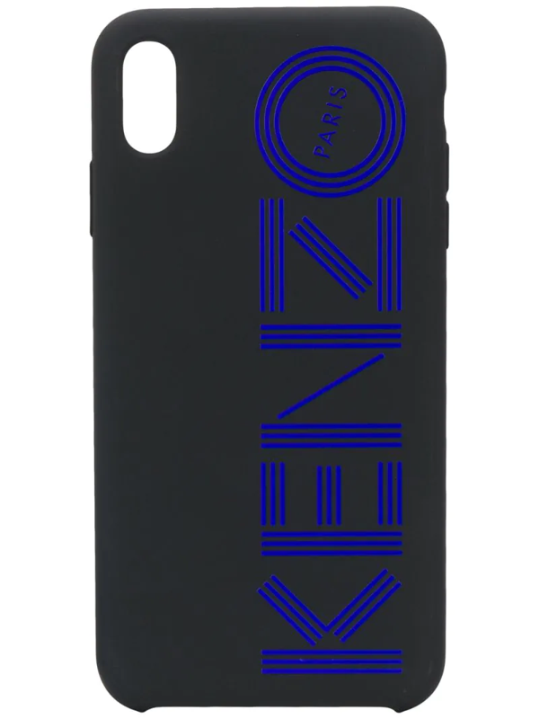 Kenzo Iphone Xs Max-hülle Mit Logo In Black
