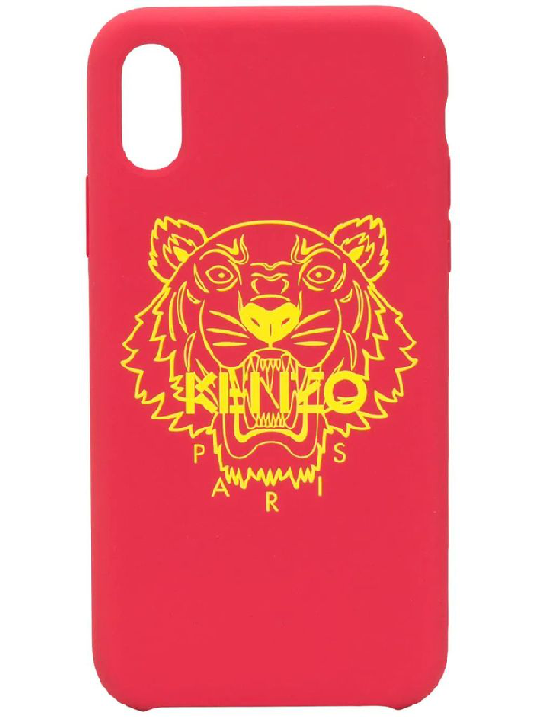 Kenzo Cover I-phone X/xs In Red