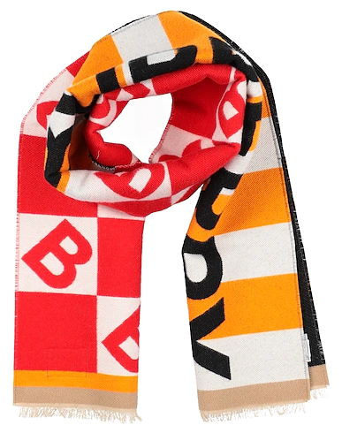 Burberry Kids' Scarf In Red