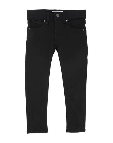 Burberry Kids' Denim Pants In Black