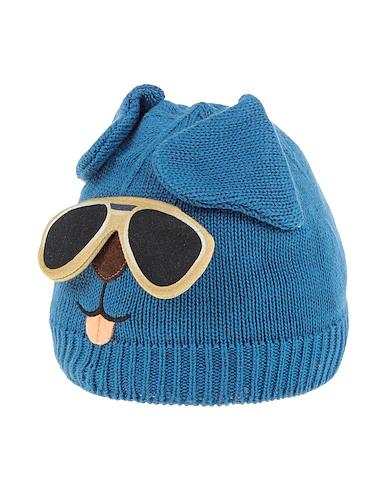 Dolce & Gabbana Babies' Hat In Slate Blue