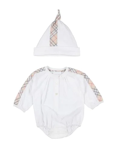 Burberry Babies' Romper In White