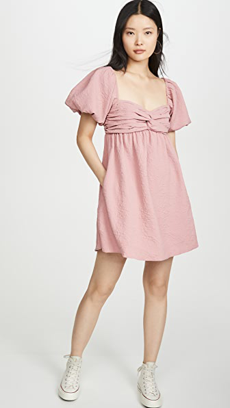 Hofmann Copenhagen Michelle Dress In Blush