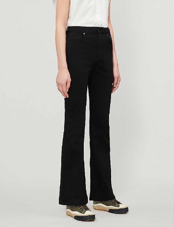 Ted Baker Umali Flared Stretch-denim Jeans