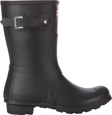 Hunter Original Short Rain Boots In Black