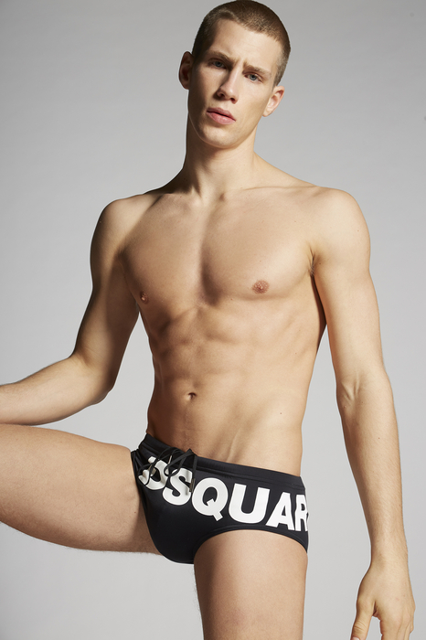 Dsquared2 Men Brief Trunks In Black