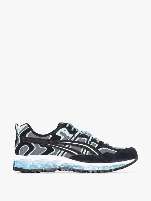 Asics Gel-nandi 360 Low-top Sneakers In Black
