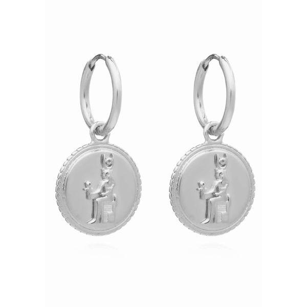 Rachel Jackson Queen Of Revelry Mini Hoops - Silver