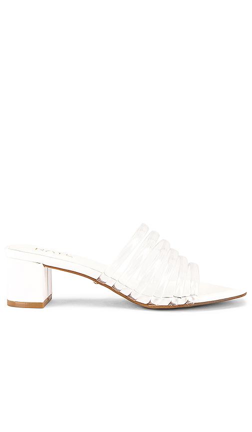 Raye Lyric Heel In White