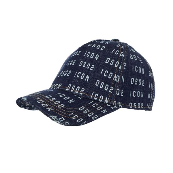 Dsquared2 Cap Denim - Blue
