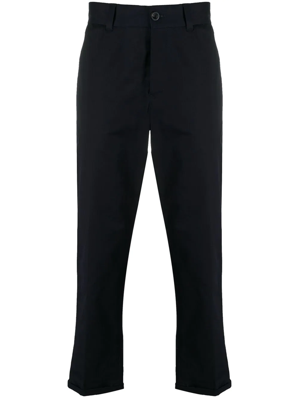 Pt01 Feather Charm Trousers In Blue