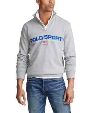 Polo Ralph Lauren Men's Polo Sport Icon Fleece Sweatshirt In Andover Heather