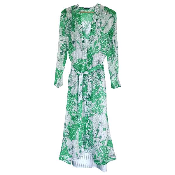 Roseanna Green Silk Dress