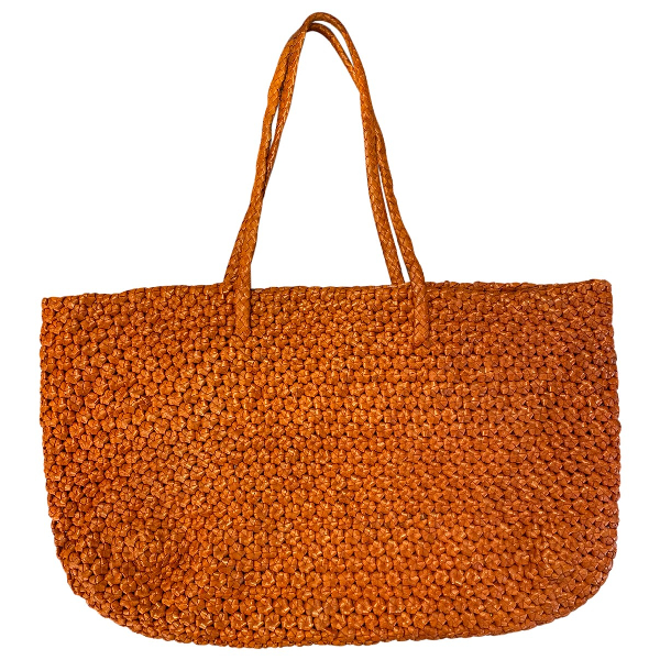 Dragon Diffusion Orange Leather Handbag