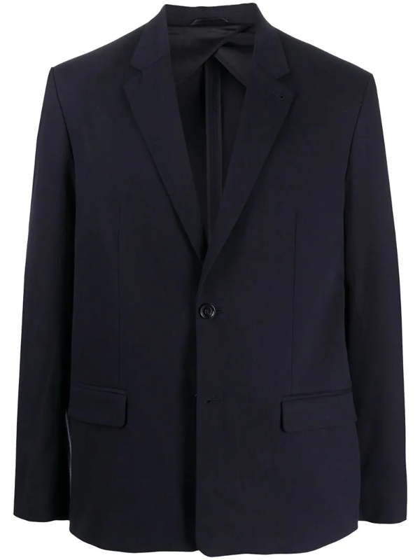 Filippa K Harrison Single-breasted Blazer In Blue