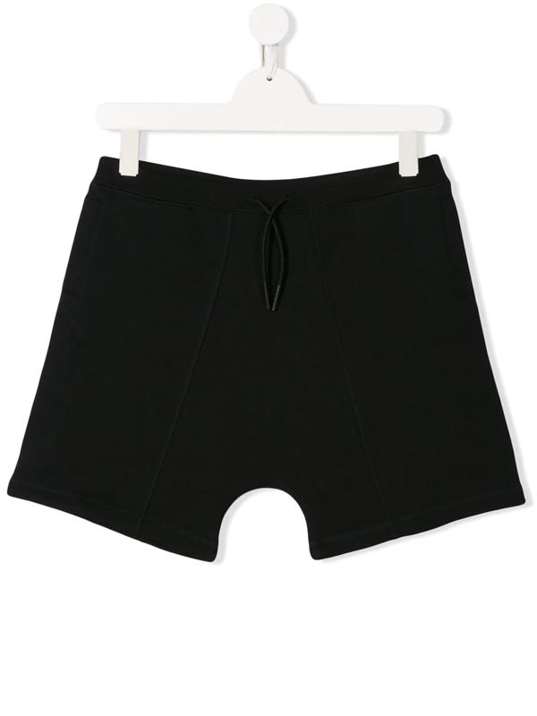 Burberry Boys' Lucian Logo Drawstring Shorts - Little Kid, Big Kid In Black