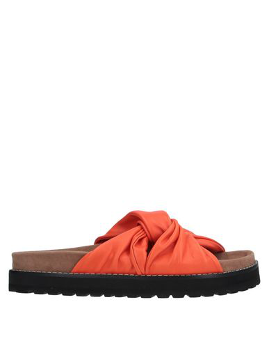 Erika Cavallini Sandals In Orange