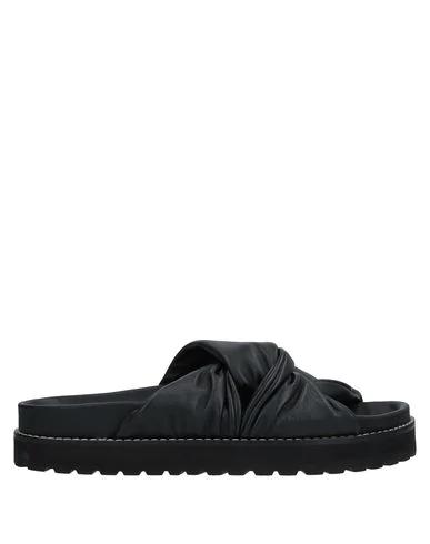 Erika Cavallini Sandals In Black