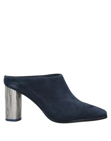 Tiger Of Sweden Mules And Clogs In Dark Blue