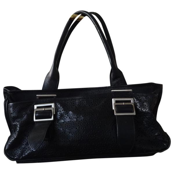 Pre-owned Yohji Yamamoto Black Leather Handbag