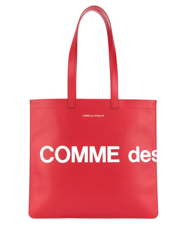 Comme Des Garçons Comme Des Garcons Wallets Red Leather Shopper Bag